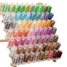 70 Embroidery Spools Variegated Machine Thread ... - $91.98