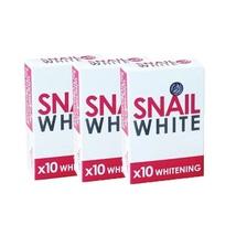 4 Bars Red Snail White 10X Whitening Gluta Snail Soap 70g - $29.99