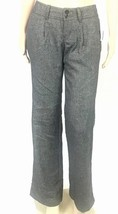 Old Navy Trousers Size 2 Tweed Black and Gray Pants - $29.09