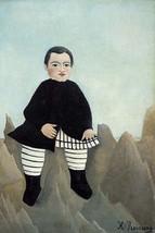 Boy On the Rocks by Henri Rousseau - Art Print - $19.99+
