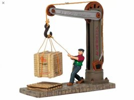 Department 56 Dockside Stevedore Christmas In The City Accessory Figurine - $30.00