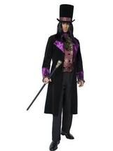 El Conde Gótico Disfraz, Halloween Gótico Manor Disfraz, Pecho 107cm-112cm - $107.62