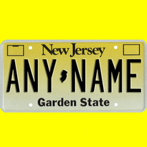 1/43-1/5 scale custom license plate set any brand RC/model car - New Jer... - $11.00