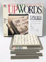 Vintage UpWords Board Game Complete 1988 Milton Bradley 3-D   2 - 4 Player 4312 - $12.73