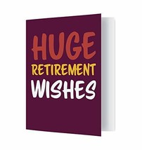 Jot & Mark Extra-Large Retirement Card | Full-Page Greeting Card from Th... - $9.81