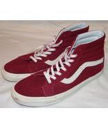 Vans Off The Wall Hohe Sneakers 13 Hi Skateboard Maroon Weinrot Herren - $45.94