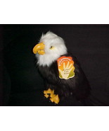 """14"""" Perched Eagle Puppet Plush With Tags Toy Folktails Folkmanis Retired... - $93.49"""