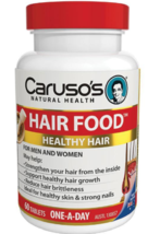 Carusos Natural Health Figaro Hair Food Plus 60 Tablets - $192.24