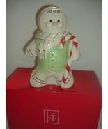 Lenox Gingerbread Man Cookie Jar with Box - $55.00