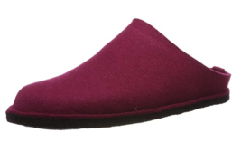 HAFLINGER Flair SOFT clogs PORT US 6 wool pink Slippers EU 37 - $59.99