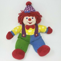 "18"" BIG GYMBOREE GYMBO THE BABY CLOWN DOLL STUFFED ANIMAL PLUSH TOY RED ... - $54.82"