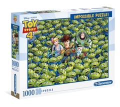"""NEW Clementoni Jigsaw Puzzle 1000 Pieces Impossible Puzzle """"Toy Story 4"""" - $30.89"""