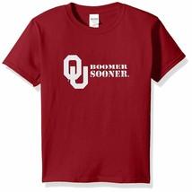 NCAA Oklahoma Sooners Adventures Short Sleeve Comfort Tee Red Small - $14.01