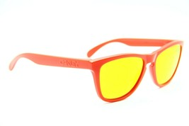 OAKLEY OO RED FROGSKINS MIRRORED SUNGLASSES FRAME - $66.45