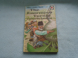 Vintage 1970  Lady Bird Book The Enormous Turnip Series 606D - $7.72