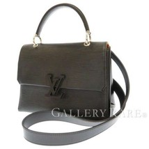 LOUIS VUITTON Grenelle PM Epi Leather Noir M53695 2Way Handbag Spain Aut... - $2,307.65