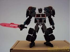 Hasbro Tfcc Limited Scarj Black Convoy Robot Soft Vinyl Doll - $136.62