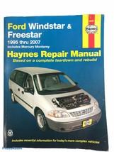 2009 Haynes 1995 Thru 2007 Ford Windstar/ Freestar Repair Manual - $17.62