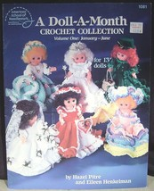 American School of Needework A Doll A Month Crochet Collection Vol. 1 Jan - June - $8.91