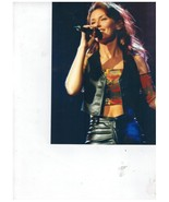 Shania Twain Vintage 8X10 Color Country Music Memorabilia Photo - $6.99