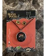 Disney Hocus Pocus  Earrings / Halloween Earrings Necklace - $9.89