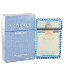 Versace Man by Versace - Eau Fraiche Eau De Toilette Spray (Blue) 3.4 oz... - $57.33