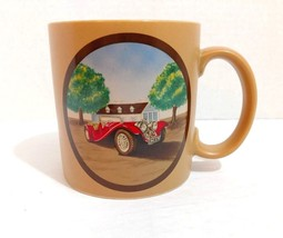 Russ Berrie Classic Car Collectible Coffee Mug Tea Cup Vintage Automobile - $7.99