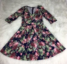 LUSH Juniors Medium A Line Floral Dress - $19.78