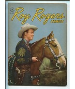 ROY ROGERS FOUR COLOR #144 1947-DELL-EARLY ROY ROGERS ISSUE-PHOTO COVERS... - $297.06
