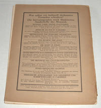 MENORAH Judaica Rare Illustrated Monthly for the Jewish Home August 1928 Austria image 8