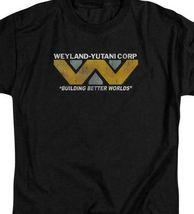 Aliens t-shirt Weyland-Yutani Corp Science Fiction movie graphic tee TCF103 image 3