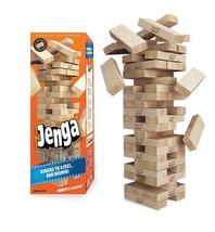 Jenga GIANT Genuine Hardwood Edition Simple Solid Timeless Skill Strateg... - $205.91