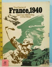 France 1940 German Blitzkrieg in The West Avalon Hill 1972 Punched - $29.70