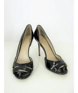 Jean-Michel Cazabat Peep-toe Pumps Olina d'Orsay Patent Leather Heels 38... - $41.58