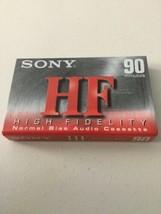 New-Sealed-Sony HF Audio Cassette Tape- Normal Bias-90Min-C-90HFC - $4.99