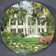 The Greek Revival Collector Plate Home Sweet Home Robert McGinnis Archit... - $14.95