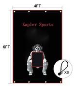 Kapler Vinyl Backstop Baseball/Softball Tarpaulin Backstop Batting cage ... - $61.18