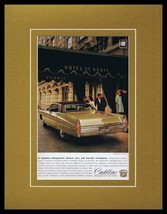 1968 Cadillac Framed 11x14 ORIGINAL Vintage Advertisement - $41.71