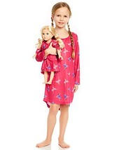 Leveret Ballerina Matching Doll & Girl Nightgown 10 Years - $26.15