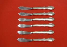 """Andante by Gorham Sterling Silver Trout Knife Set 6pc 7 1/2"""" HHWS  Custom Made - $419.00"""