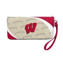 Little Earth 100902-UWIS NCAA Curve Zip Organizer Wallet - Wisconsin Bad... - £28.42 GBP