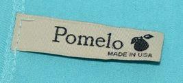 Pomelo Girls Tunic Aqua Brown White Black Leopard Print Size Medium image 5