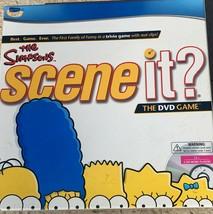 The SIMPSONS Scene It? Interactive DVD Board Game 2009 TV Trivia Family Fun! - $7.82
