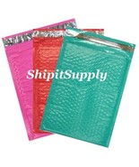 3-300 #0 6.5x10 ( Pink Teal & Red ) Combo Color... - $3.46 - $69.29