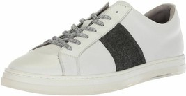 Kenneth Cole New York Colvin Mens White Canvas Low Top Sneakers Shoes - $48.51