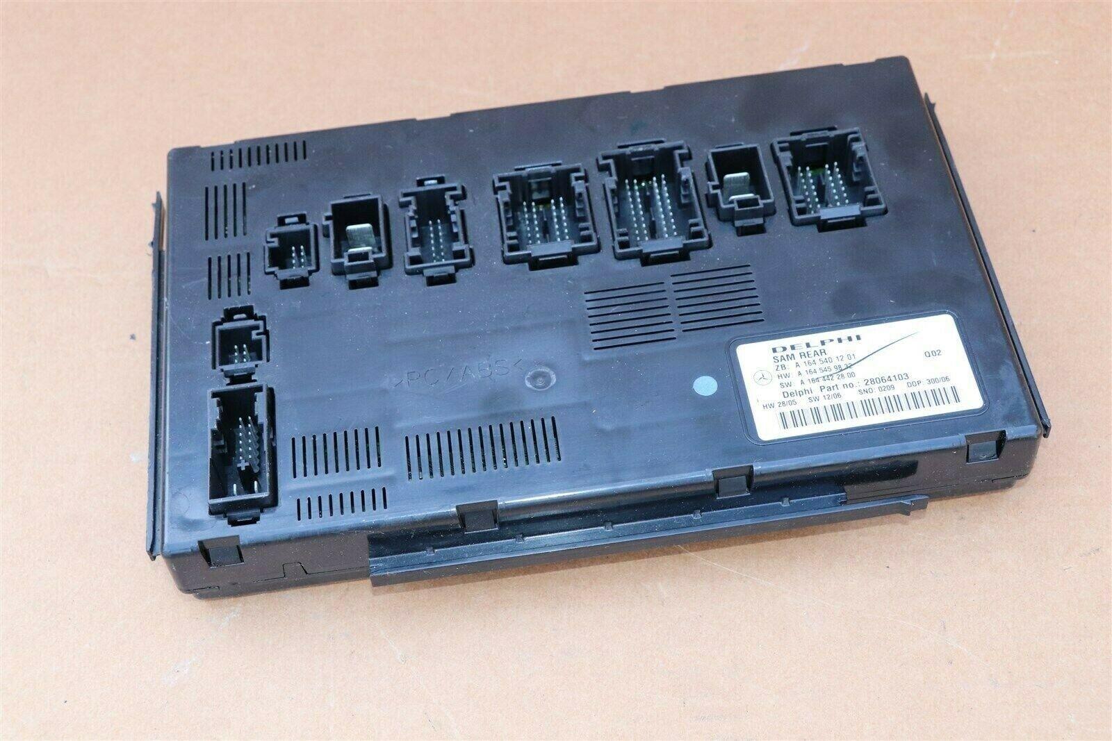 Mercedes Signal Aquisition Module SAM REAR A1645401201 Delphi 28064103
