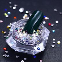 Born Pretty 1 Box Colourful Nail Rhinestone Studs Rivet  Manicure Nail A... - $4.43