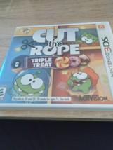 Nintendo 3DS Cut the Rope: Triple Treat image 1