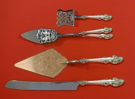 El Greco by Reed and Barton Sterling Silver Dessert Serving Set 4 pc Custom Made - $299.00
