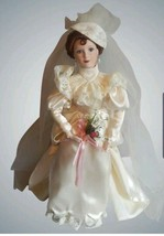 "Ashton-Drake Galleries ""Betty's 1930 wedding dress doll NEW in box #11 - $49.49"